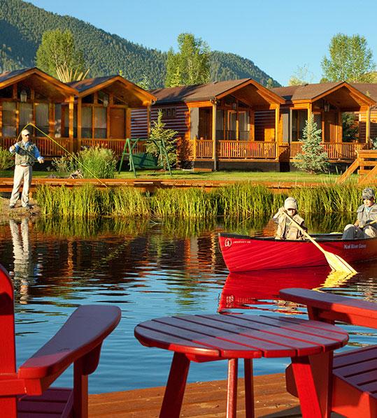 Jackson WY   Rustic Inn Creekside Resort & Spa   Hotel Amenities