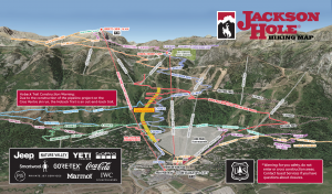 Jackson hole summer map for 2019